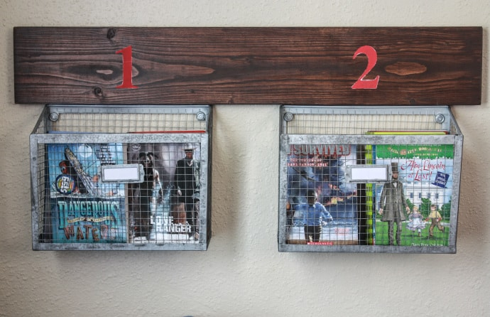 DIY Wall Hanging Storage Baskets