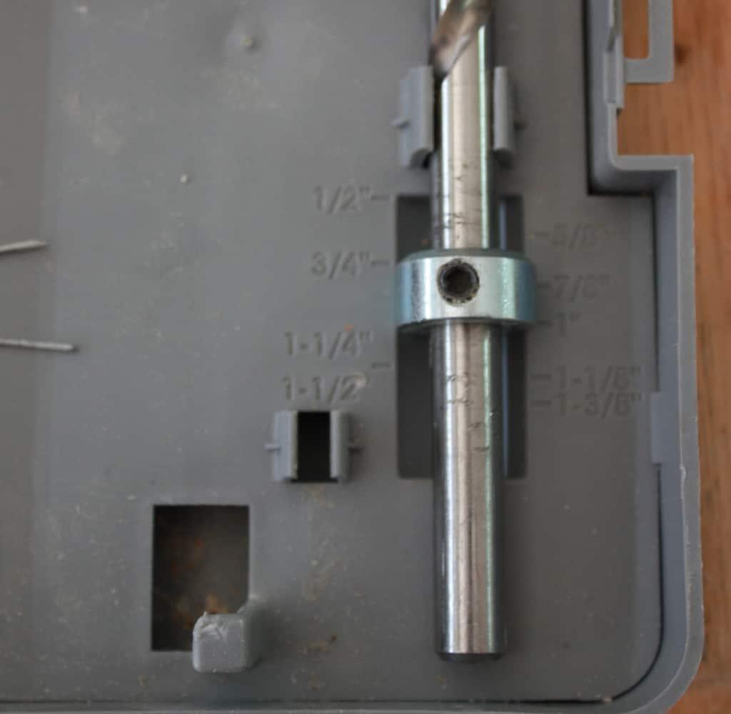 Adjusting the drill bit of the kreg jig