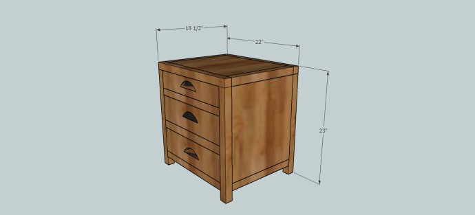 Printmaker's Side Table - Build It Craft It Love It