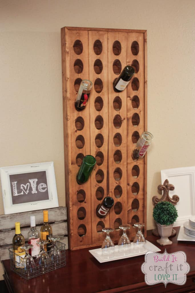 DIY Wine Riddling Rack