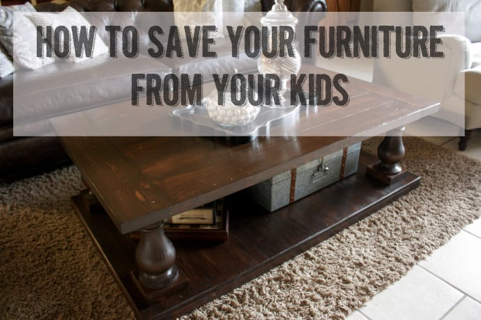 How to Help Save Your Furniture From Your Kids