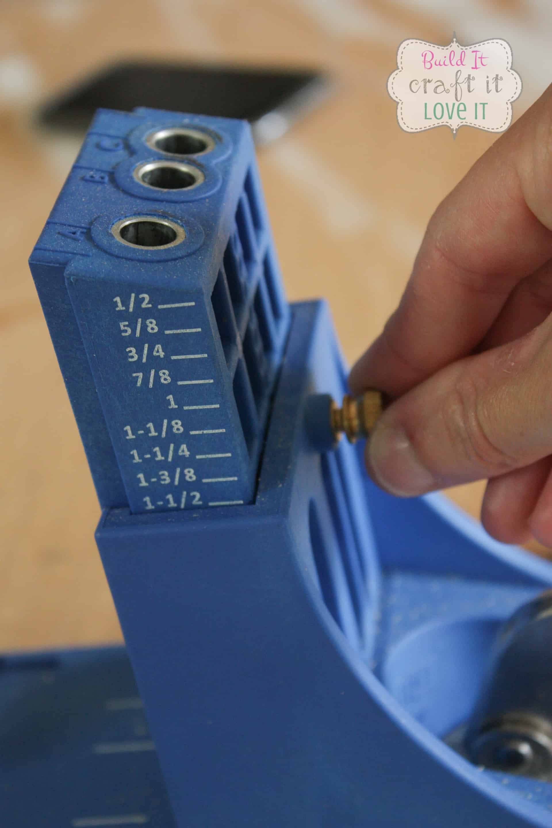 How to set the depth of a Kreg Jig