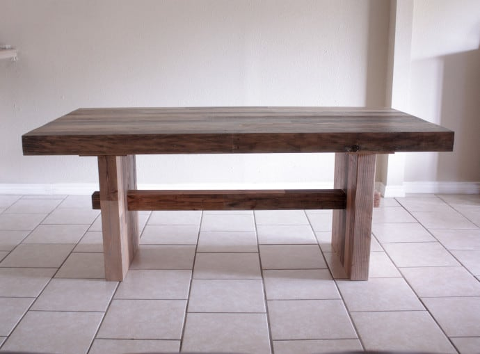 Knockoff West Elm Emmerson Dining Table