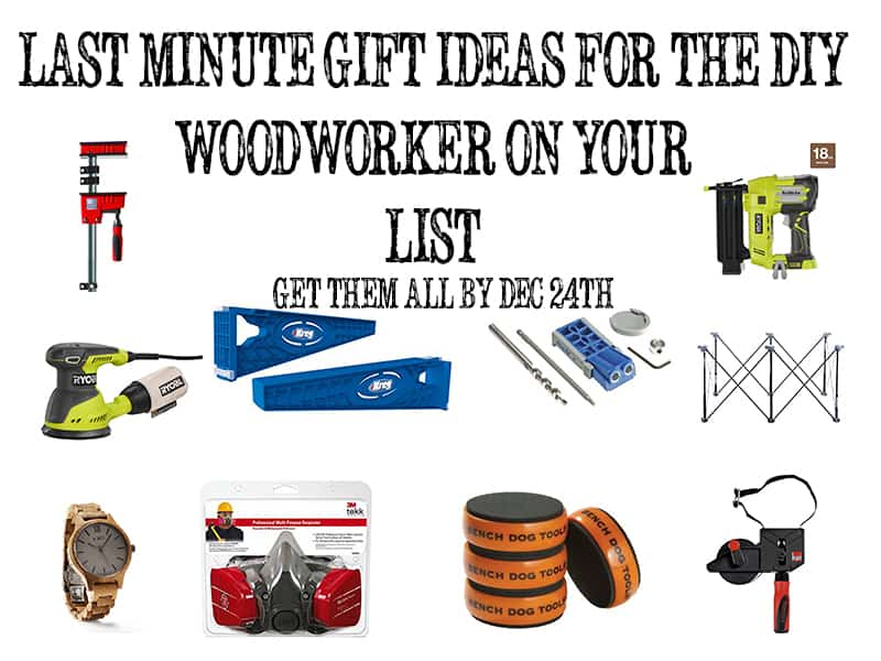 Christmas Gifts for the DIY Woodworker!