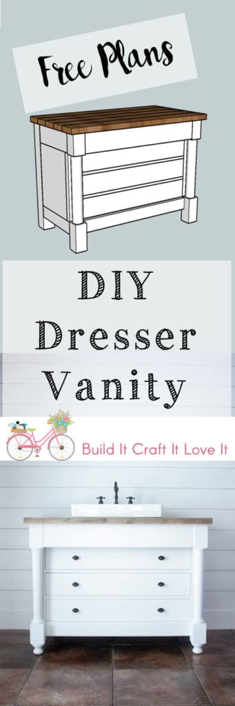 DIY Dresser Vanity - Build It Craft It Love It