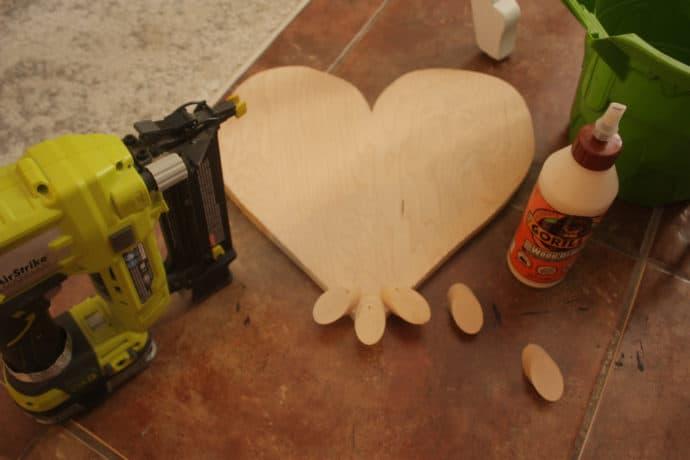 DIY Woorden Heart