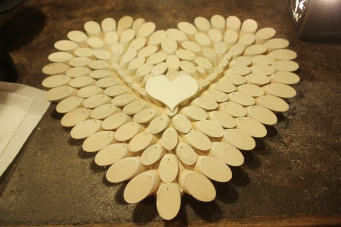 DIY Wooden HEart