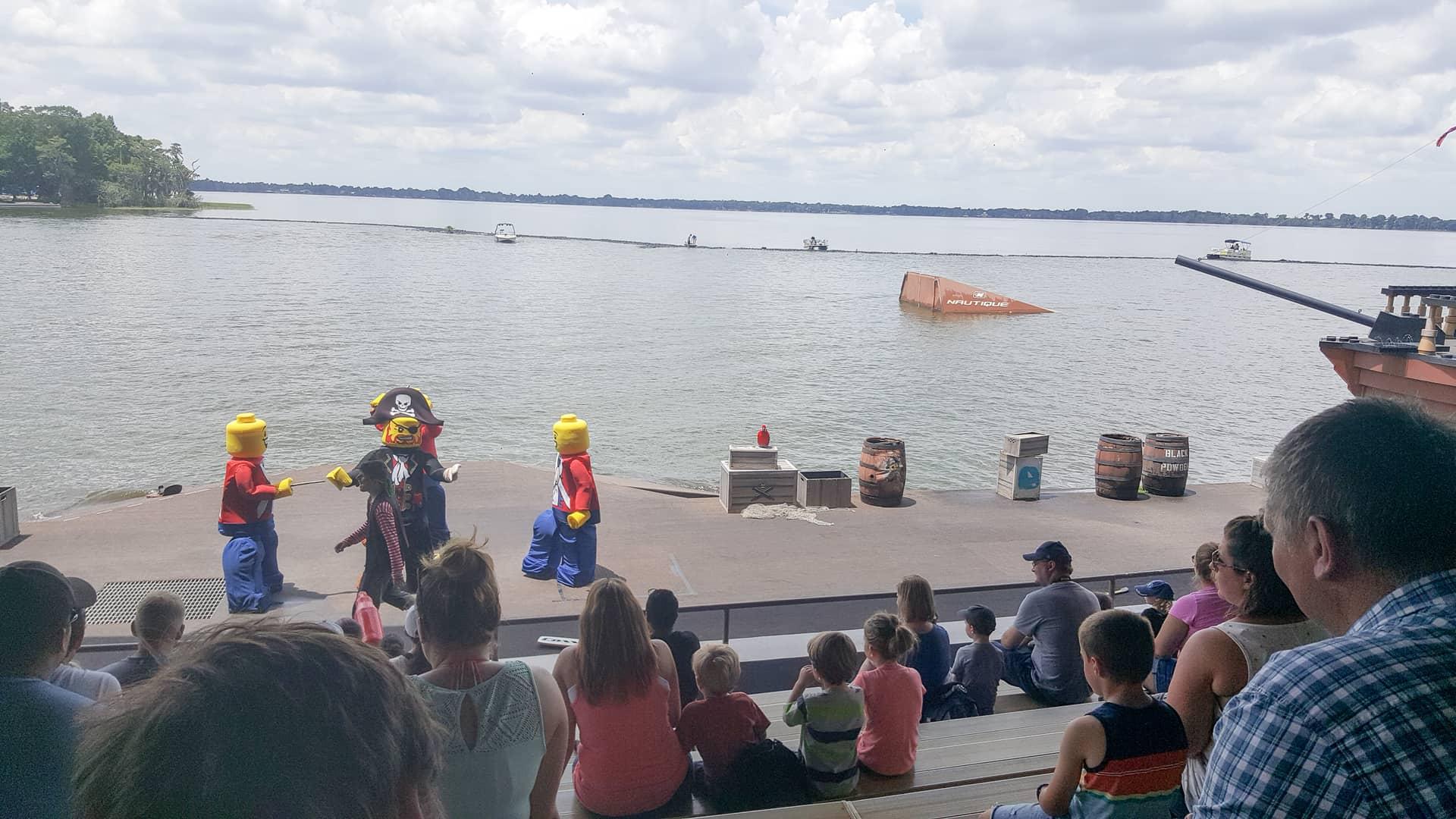 Legoland Florida - Lego Pirate show