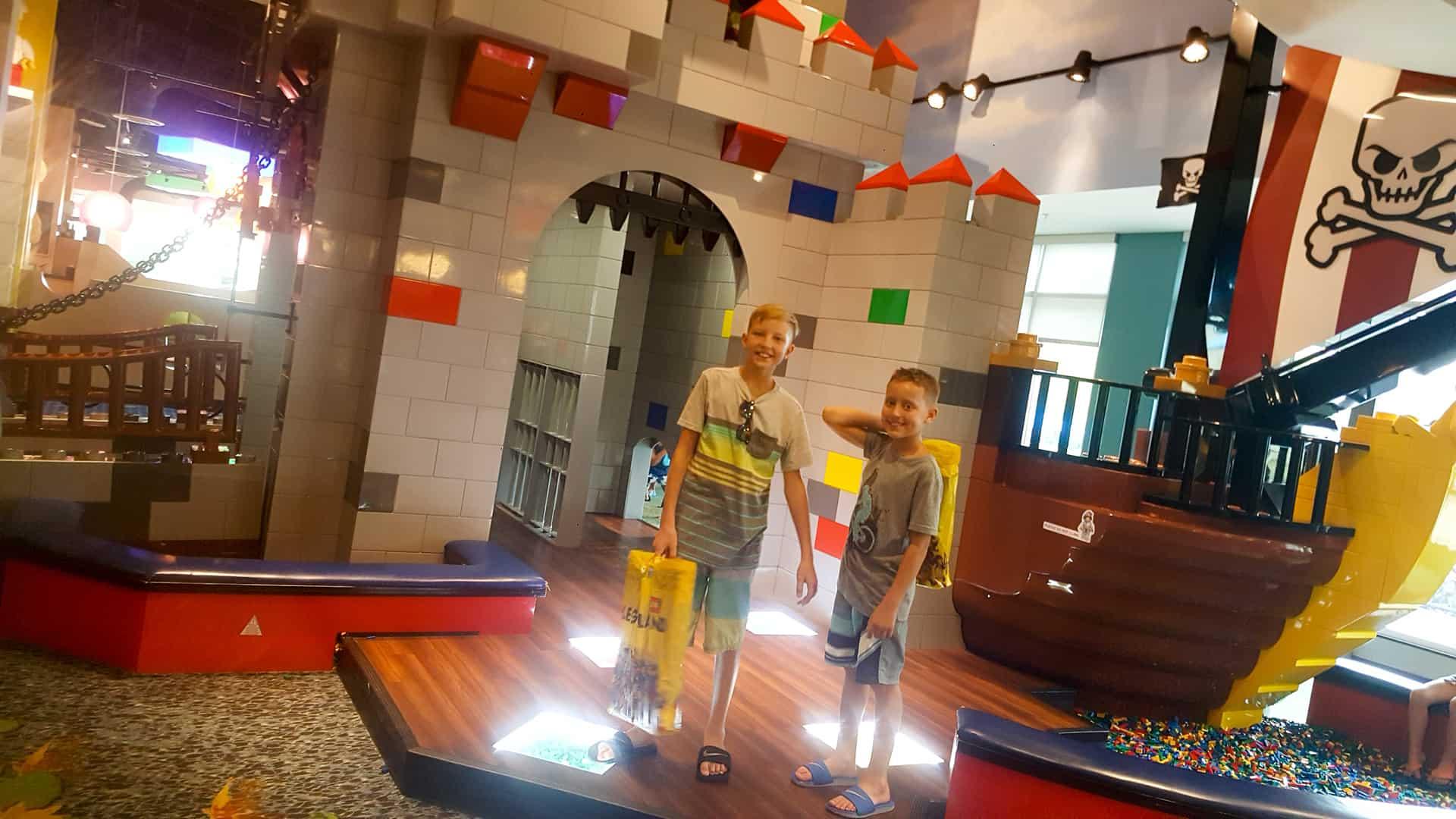 Legoland Florida Hotel inside play area