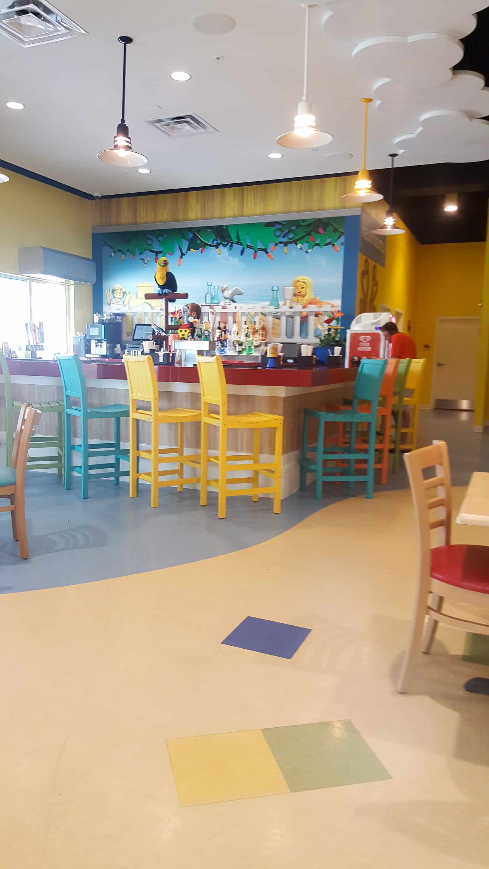 Legoland Florida Beach Retreat restaurant