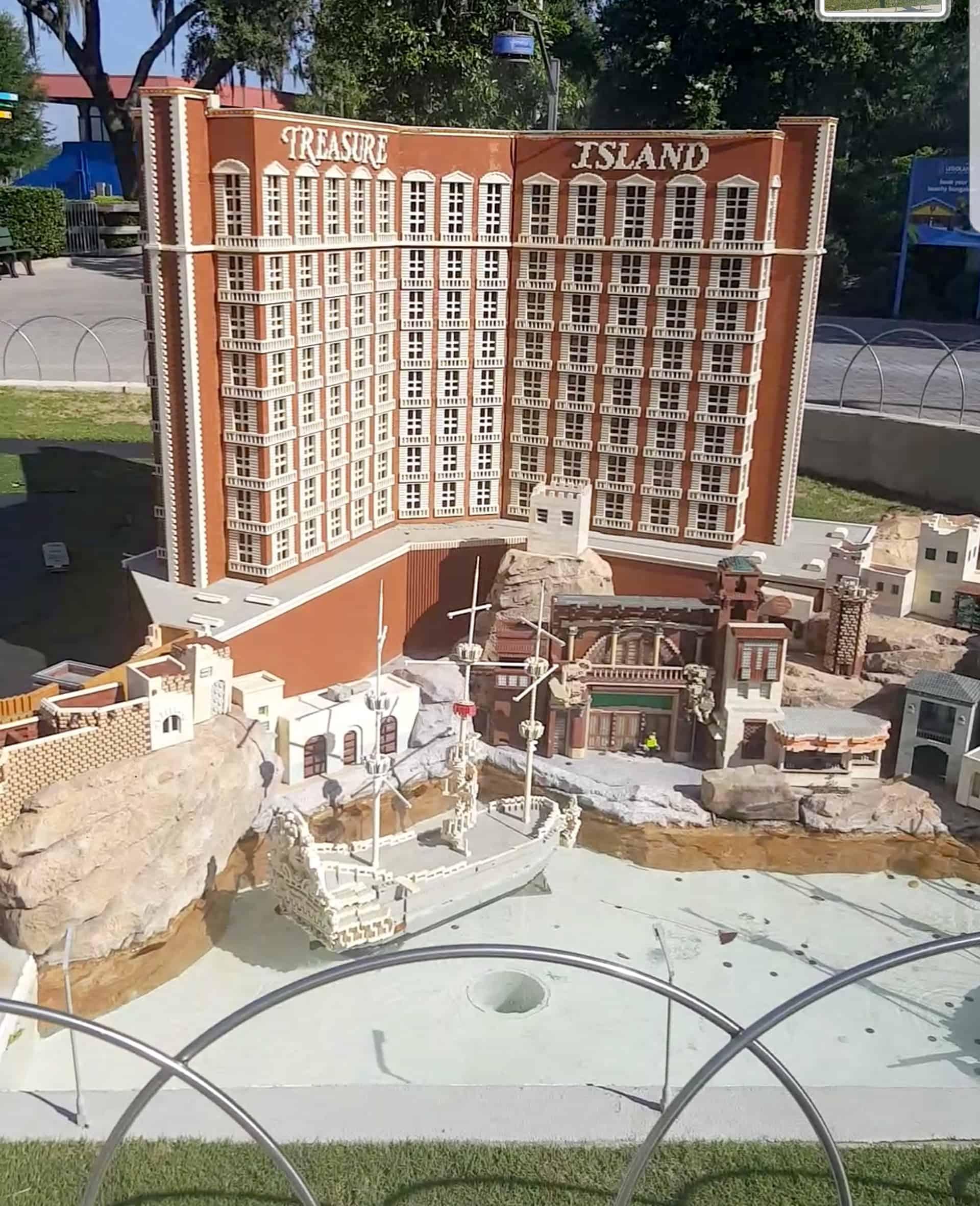Legoland Florida  - Mini Land Treasure Island in Vegas