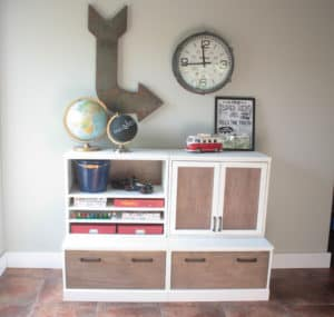 Pottery Barn Kids Inspired Modular Storage System