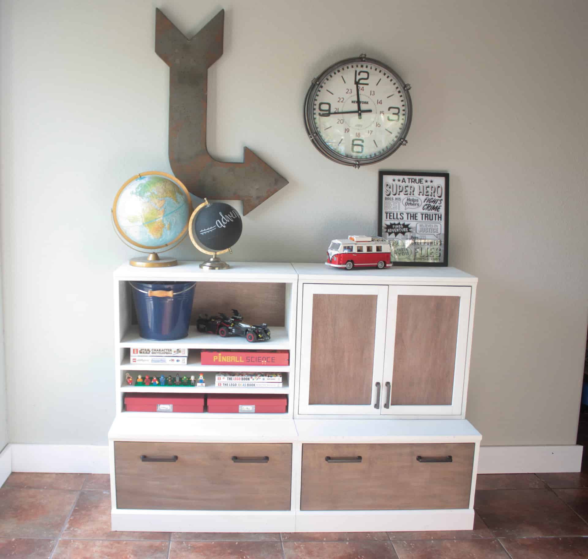 Pottery Barn Kids Inspired Modular Storage System The