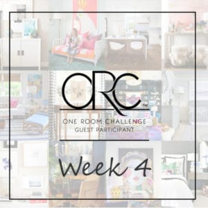 One Room Challenge - Week 4 - Drywall and window trim