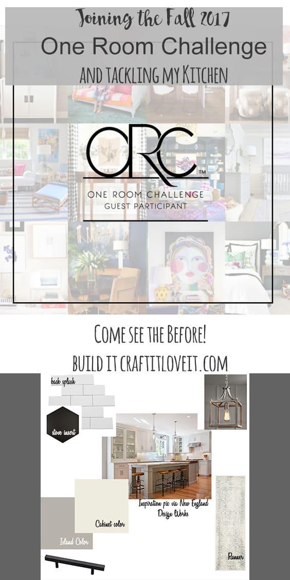 One Room Challenge – Week 1 – Kitchen Makeover