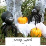 Scrap Wood Spiders