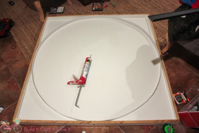 round concrete table top mold