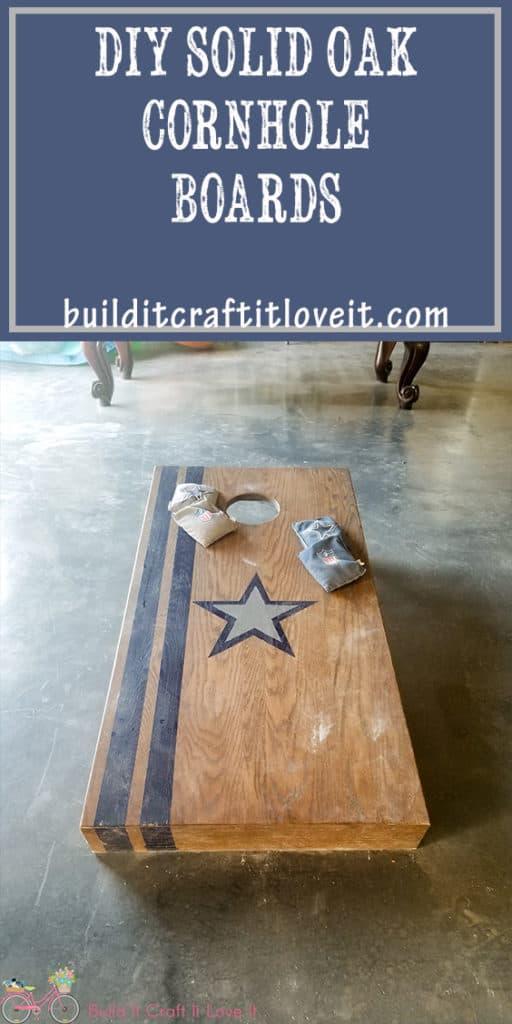 DIY corn hole boards free plans