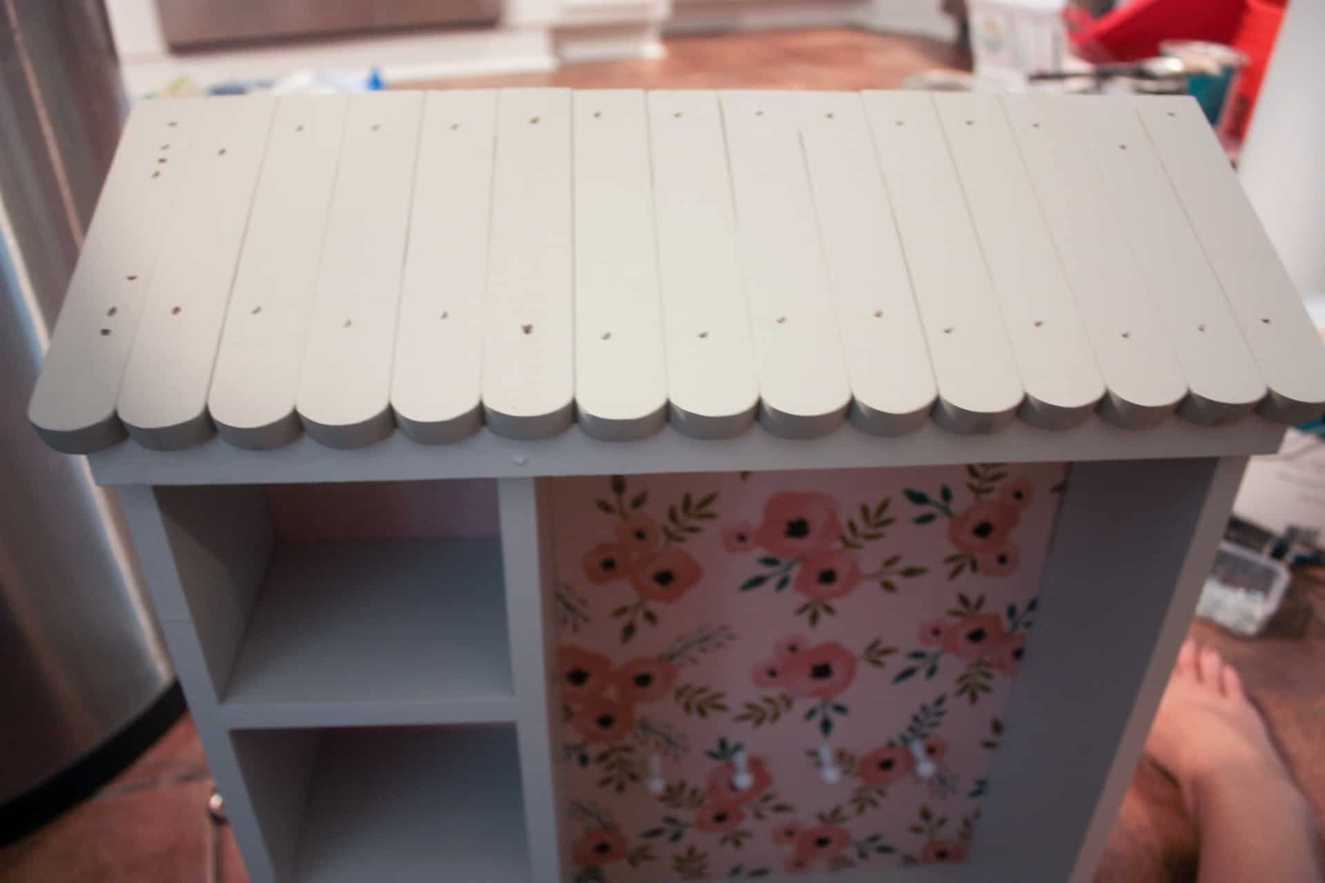 DIY Dollhouse Jewelry Cabinet