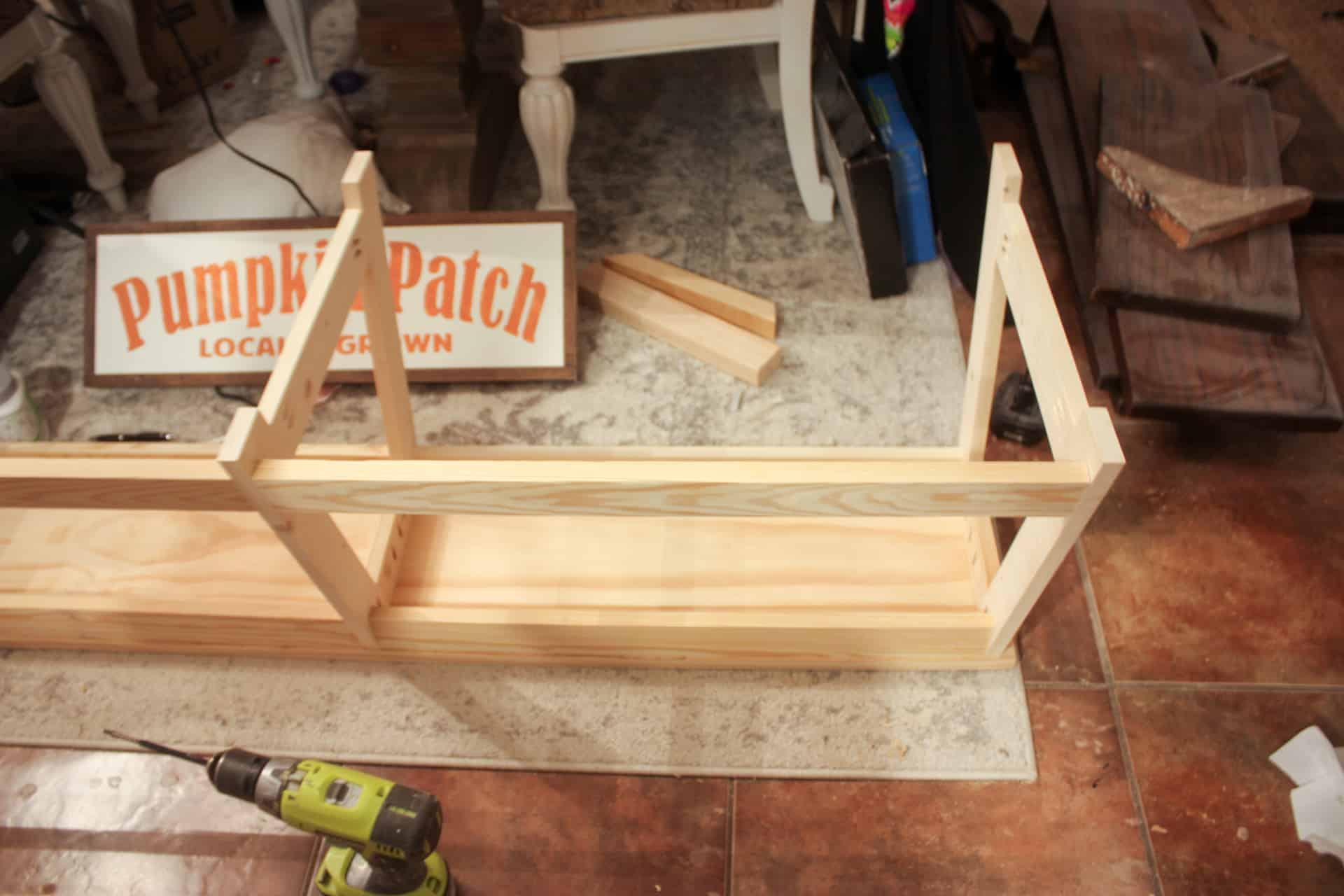 Large Modern Bench