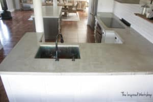 Pour In Place Concrete Countertops