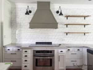 How to tile a kitchen wall or backsplash with subway tile