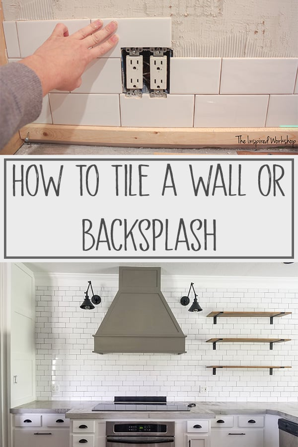 How to Tile a Wall or Backsplash