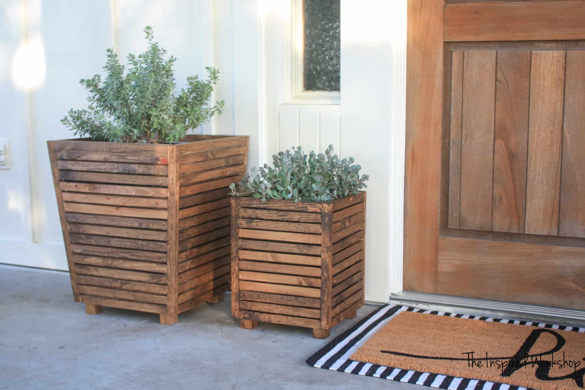 DIY Scrap Wood Outdoor Planter