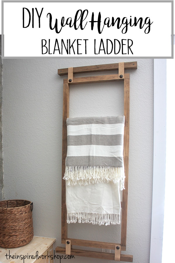 DIY Blanket Ladder - Wall Hanging