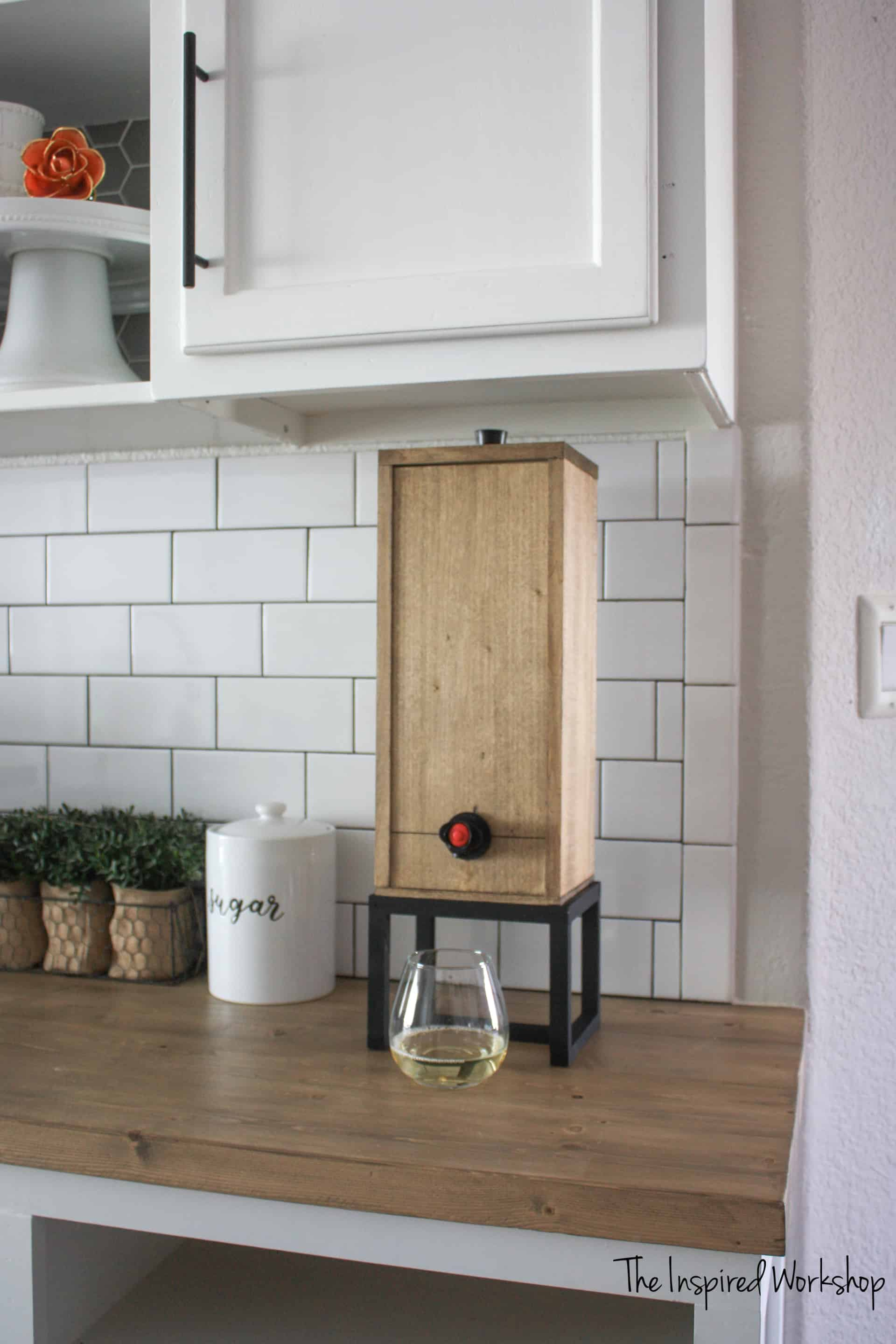 DIY Wine Dispenser