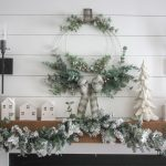 DIY Winter Christmas Wreath