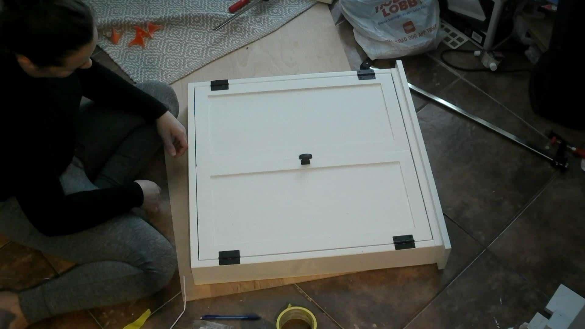 DIY Dartboard Cabinet