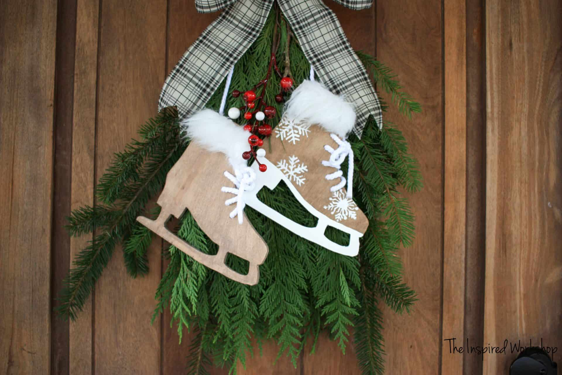 DIY Ice Skate Decor
