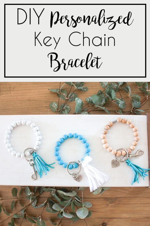 DIY Key Chain or Key Fob Bracelet