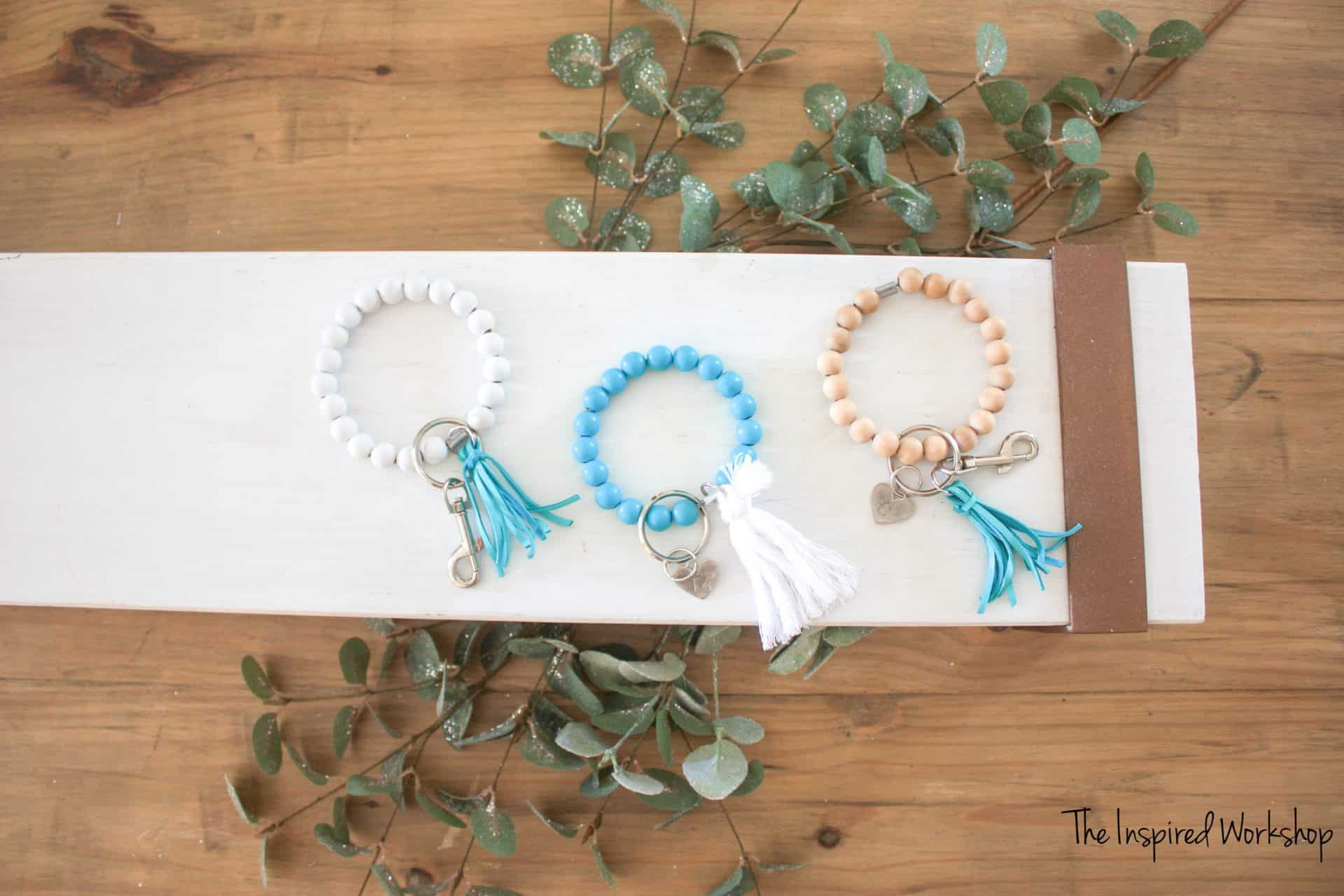 DIY Key Chain Bracelet