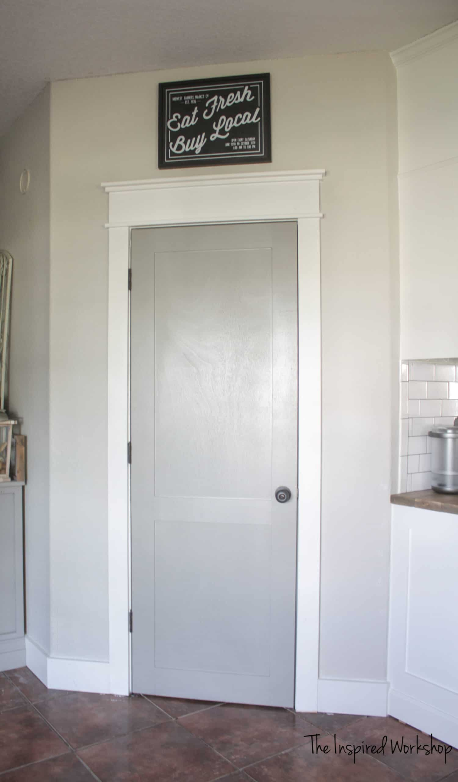 DIY Budget Door Makeover