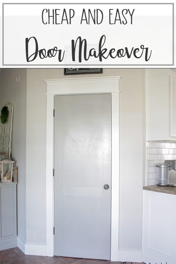Budget Door Makeover