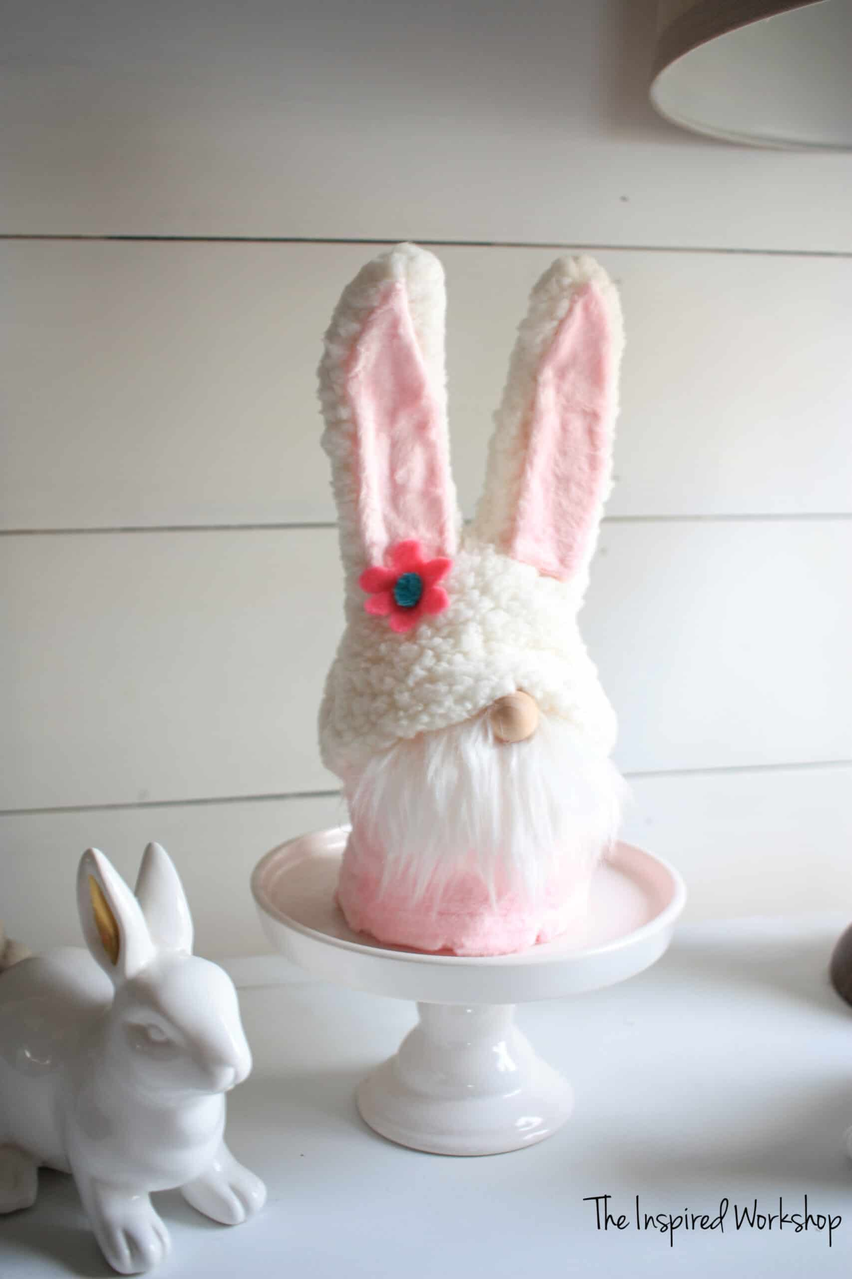 DIY Easter Bunny Gnomes