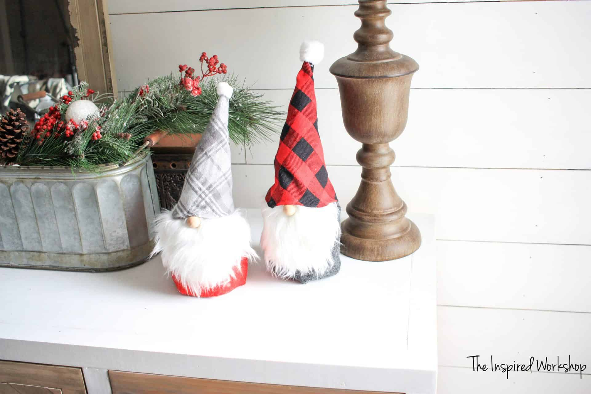 DIY Holiday Gnomes
