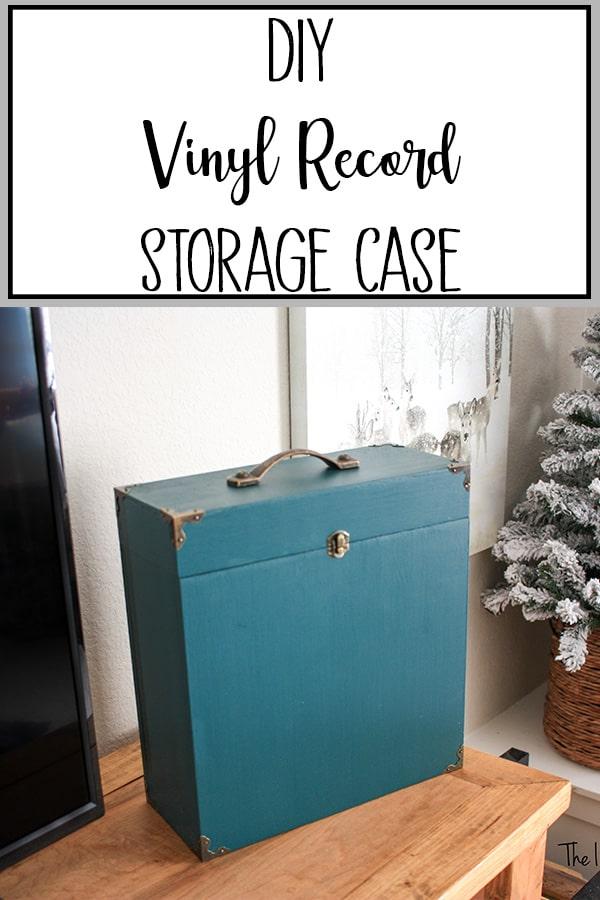 DIY Vinyl Record Storage Case
