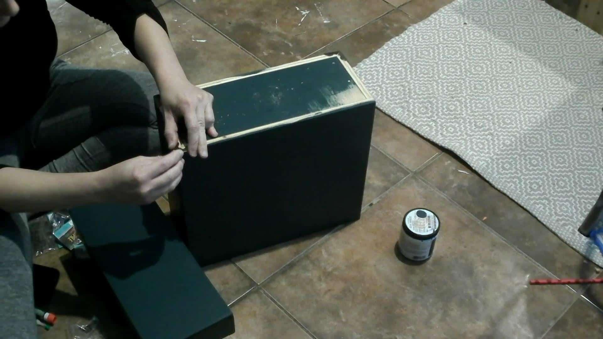 DIY Record Storage Case