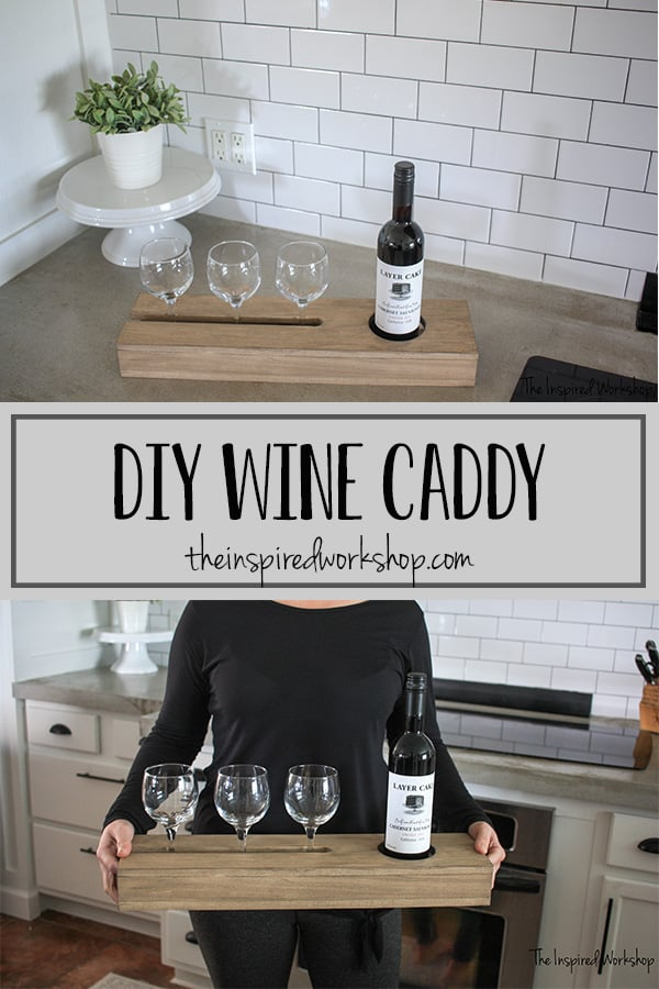 DIY Wine Caddy