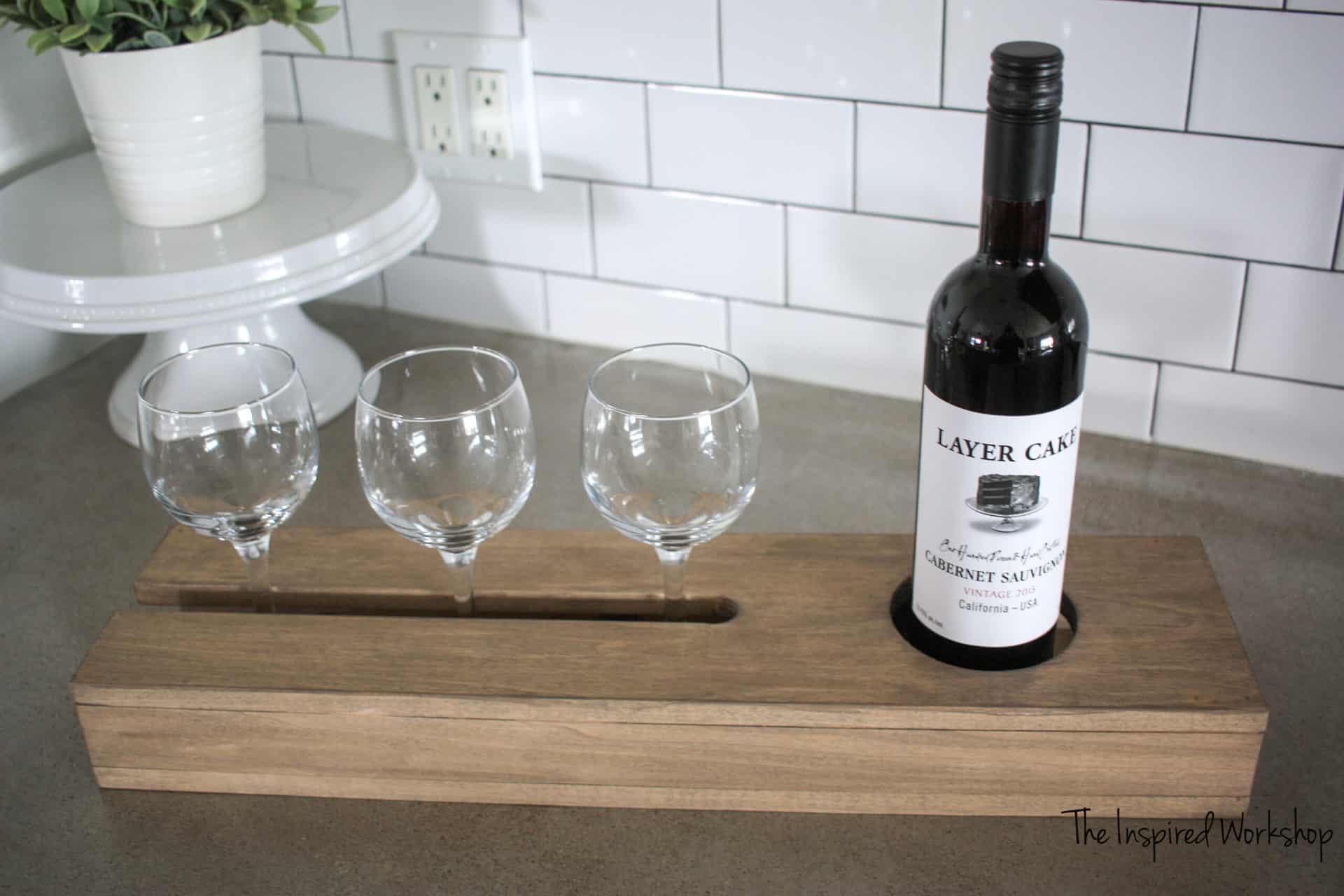 DIY Wine Server