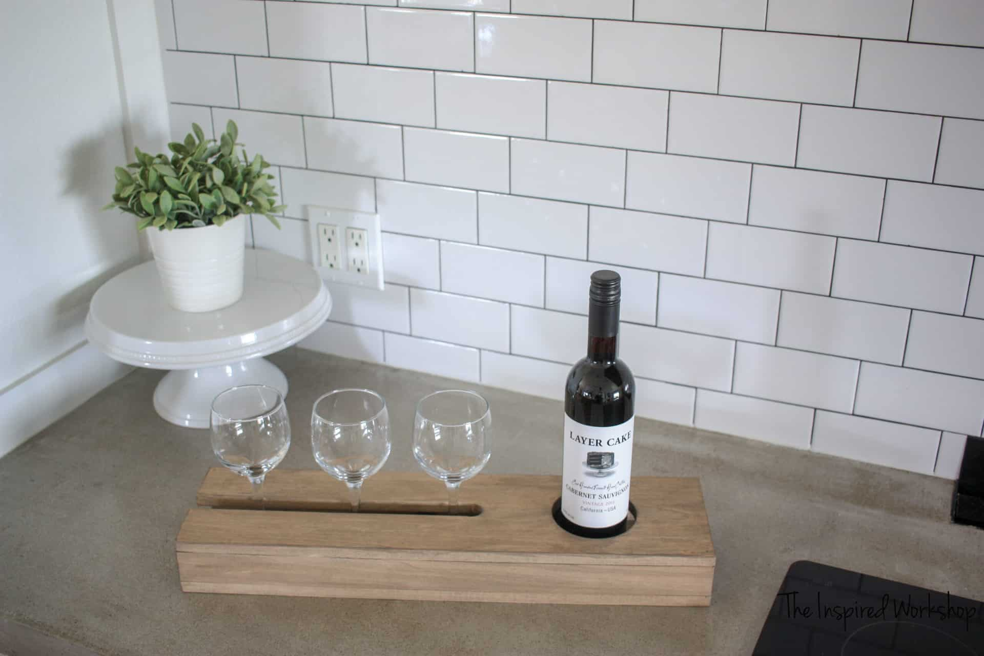 DIY Wine Caddy
