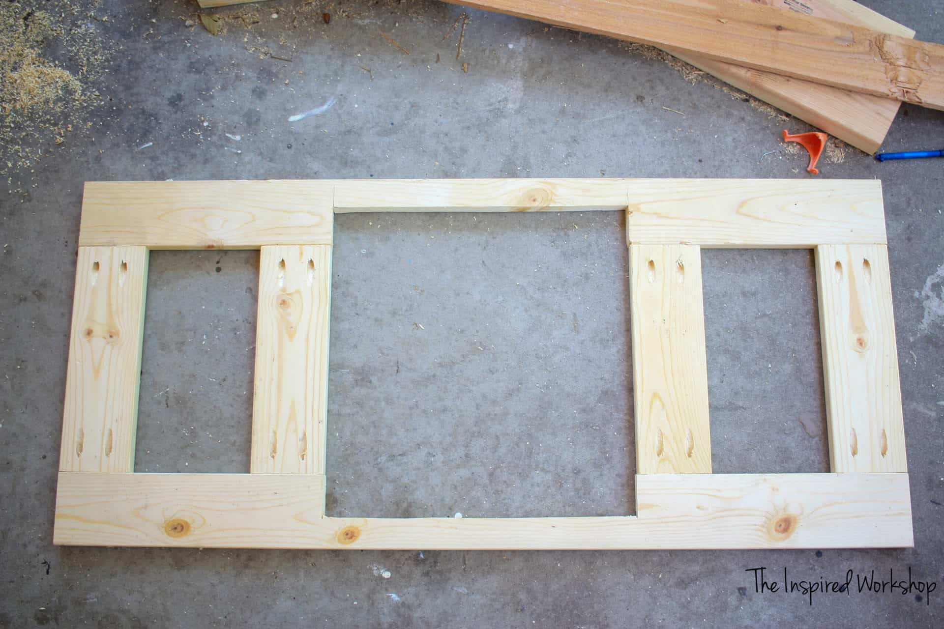 DIY Small Chicken Coop - Making the doors