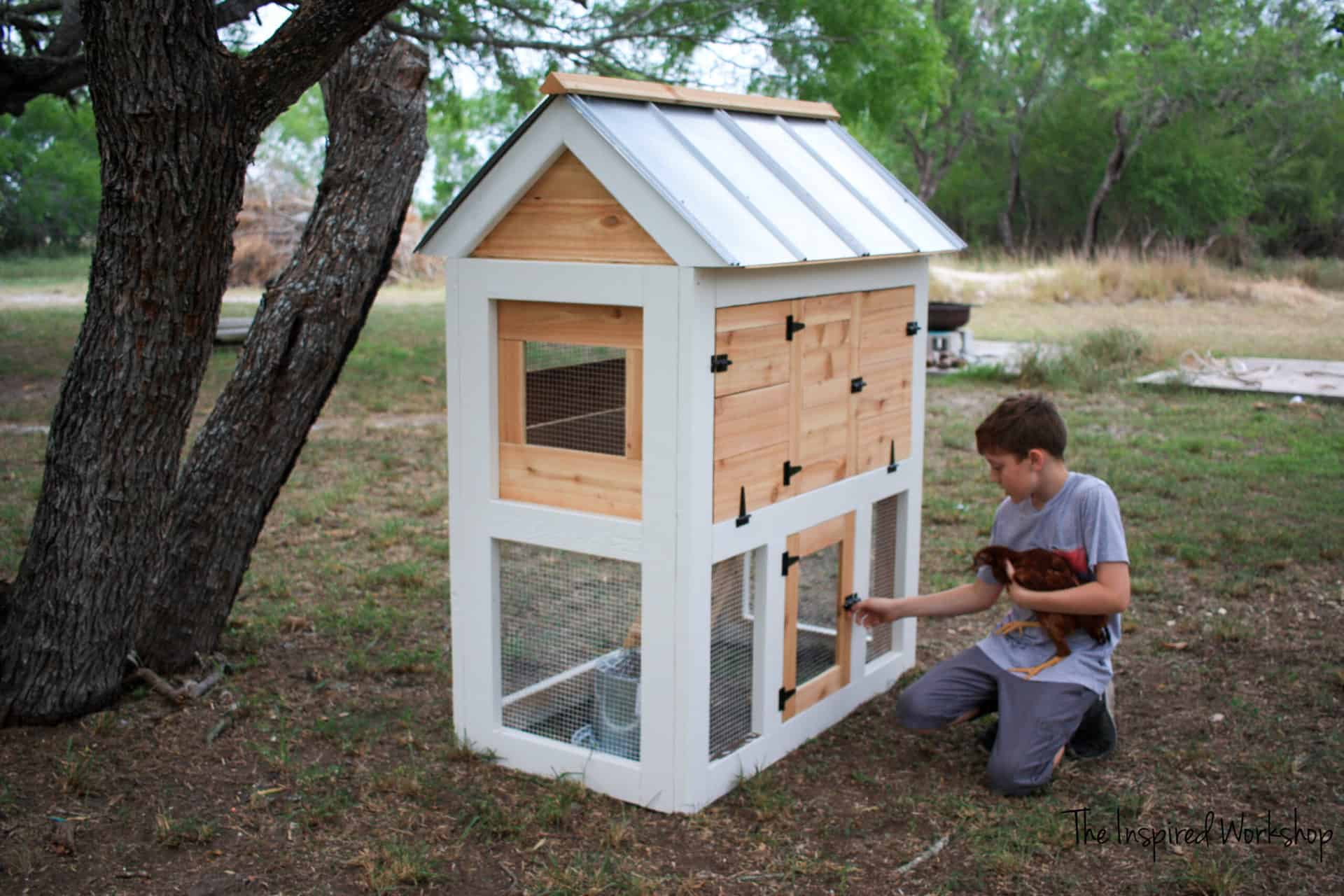 DIY Chicken Coop - free plans