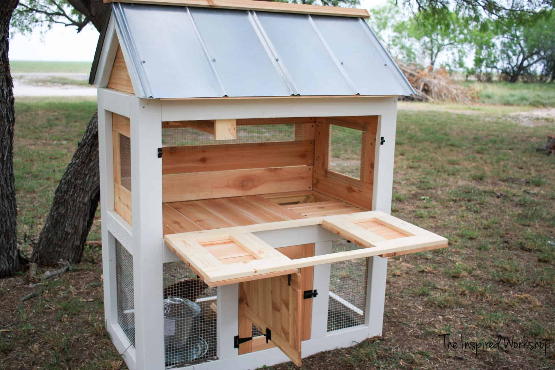 DIY Plans for a chicken coop