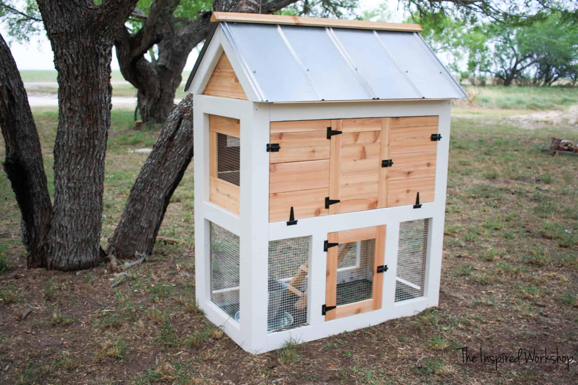 DIY Small Chicken Coop
