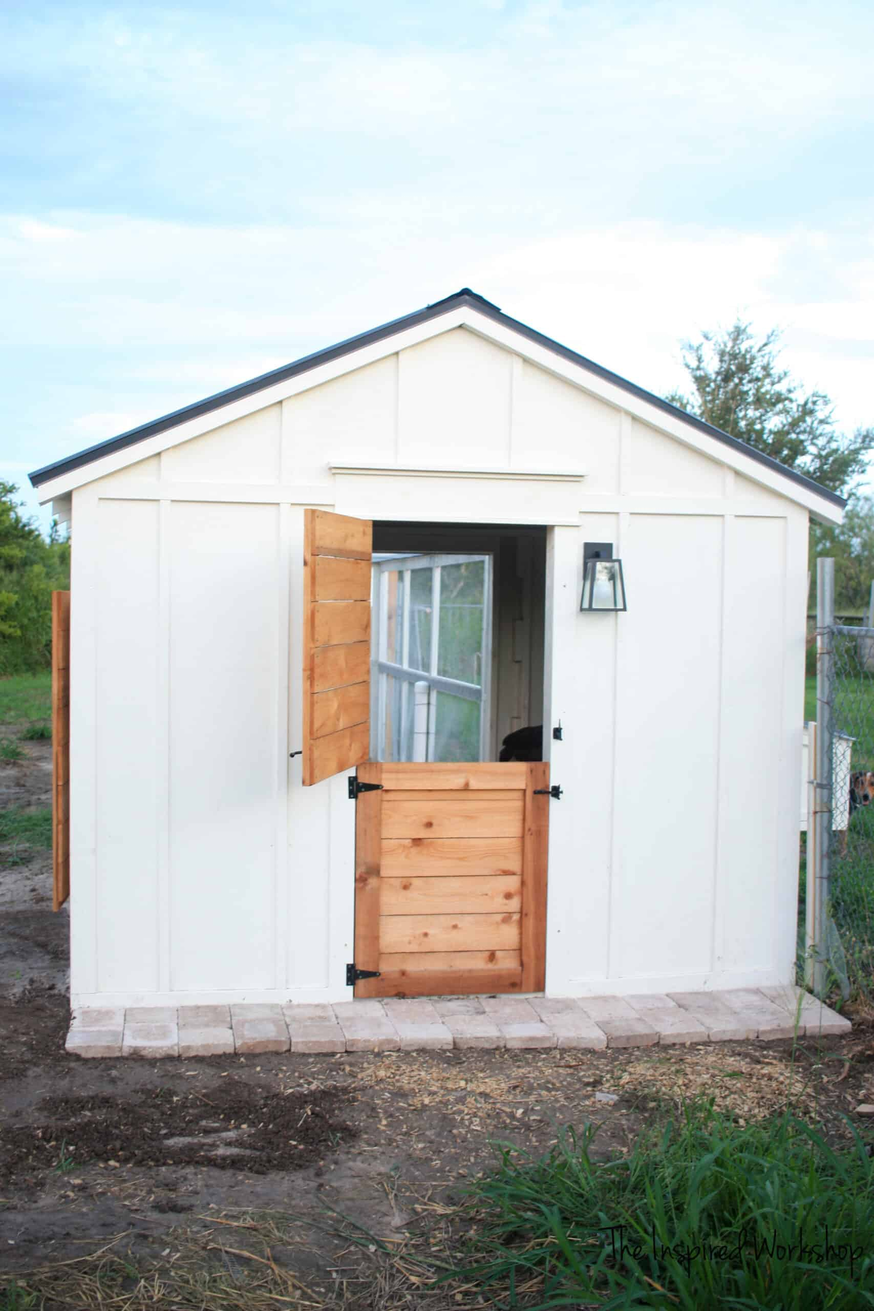 DIY Dutch Door for Chicken Coop