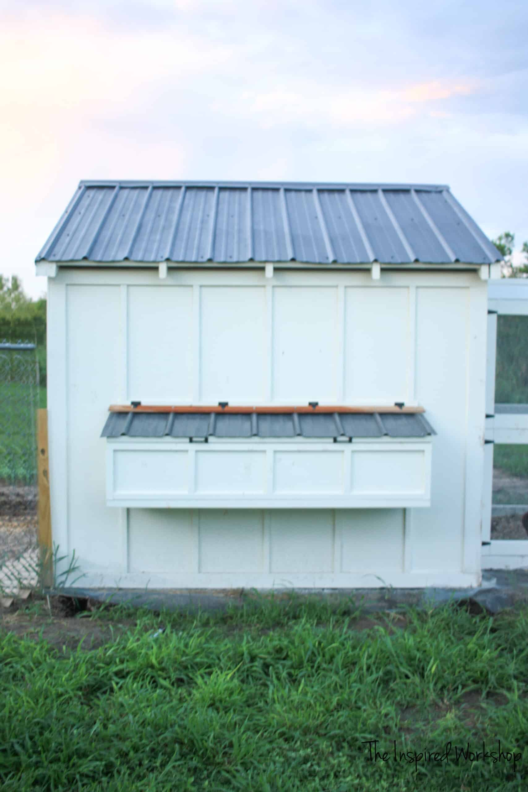 DIY Nesting Box for Chicken Coop